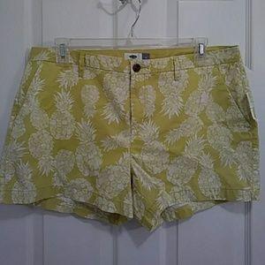 🍍RePosh🍍 Pineapple Shorts